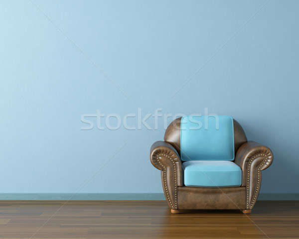 blue interior with couch Stock photo © arquiplay77
