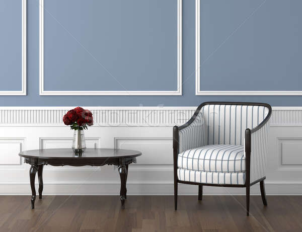 classis room blue and roses Stock photo © arquiplay77