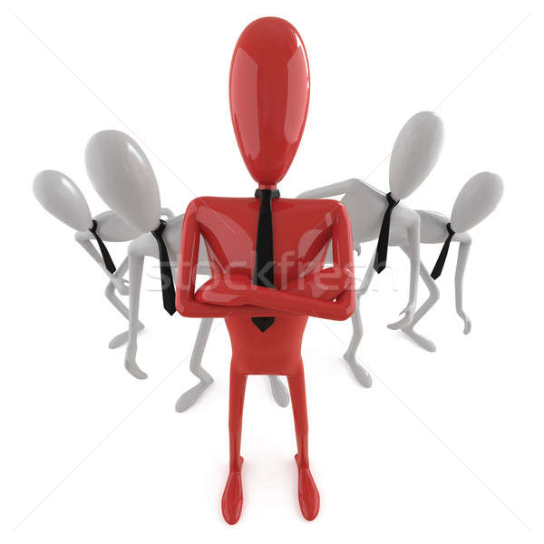 leadership concept_3 Stock photo © arquiplay77