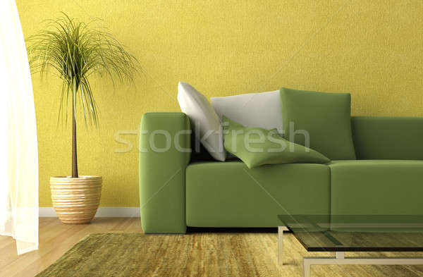 living room detail Stock photo © arquiplay77