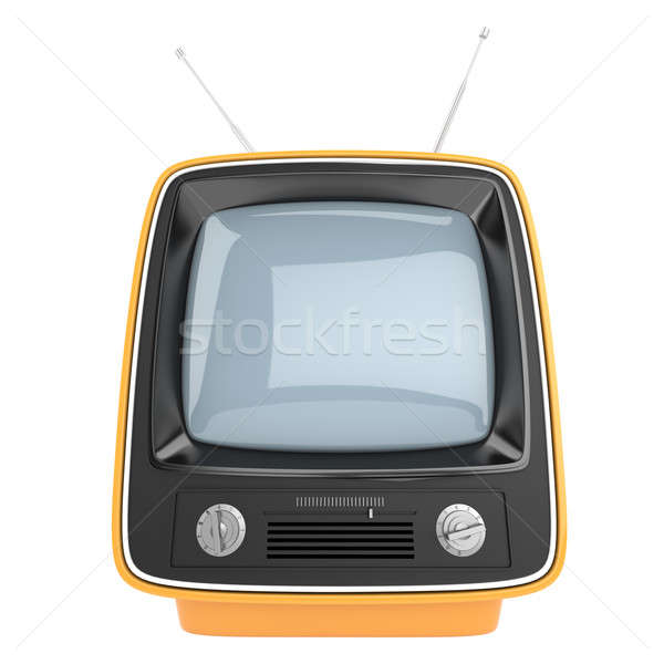 vertical retro television Stock photo © arquiplay77