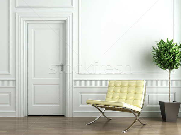 classic white interior Stock photo © arquiplay77