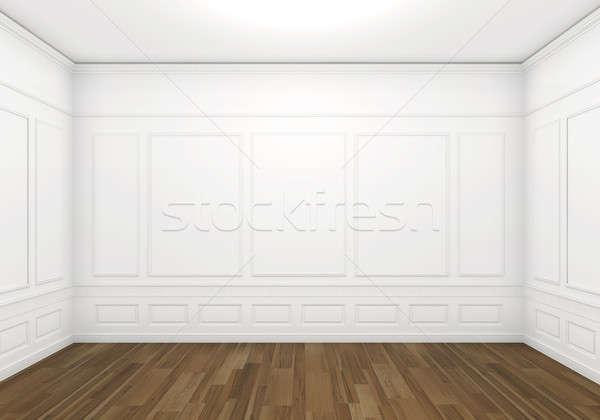 white empty classic room Stock photo © arquiplay77