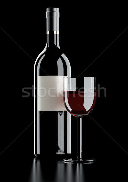 red wine Fade to black Stock photo © arquiplay77