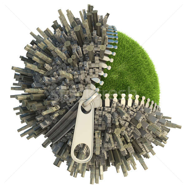 environmental change concept Stock photo © arquiplay77