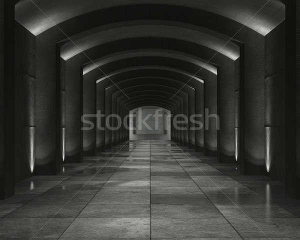 Belső beton agykoponya grunge érdekes folt Stock fotó © arquiplay77