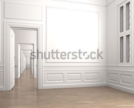 интерьер классический комнату углу пусто сцена Сток-фото © arquiplay77