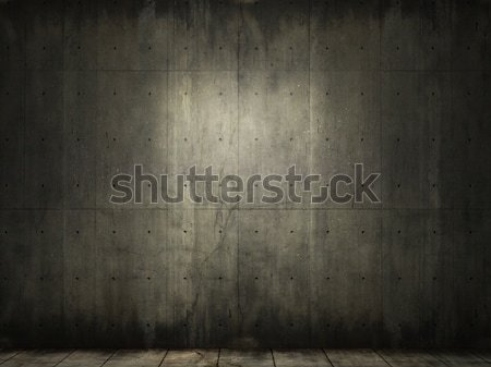grunge background of concrete room Stock photo © arquiplay77