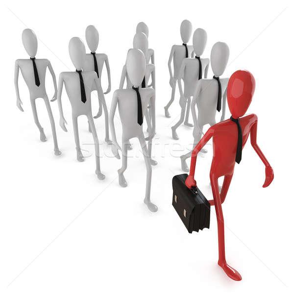 leadership concept_1 Stock photo © arquiplay77