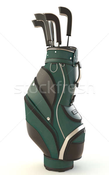 golf equipment isolated on white Stock photo © arquiplay77