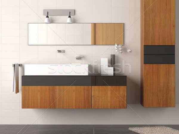 modern bathroom detail Stock photo © arquiplay77