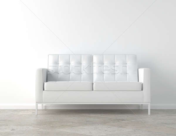 White room and couch Stock photo © arquiplay77