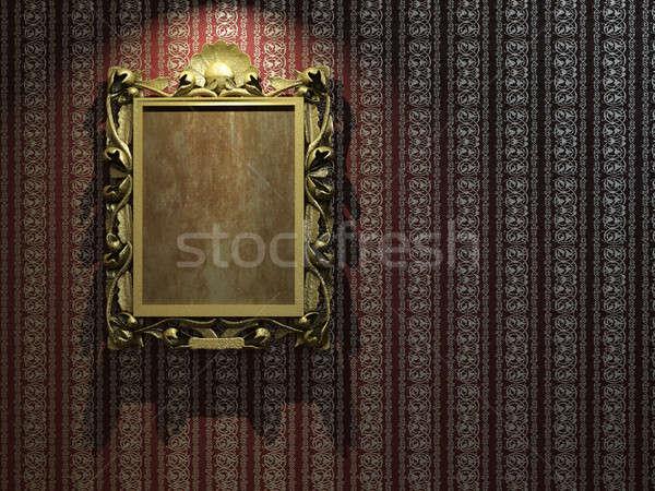 Frame classico wallpaper classica copia spazio Foto d'archivio © arquiplay77