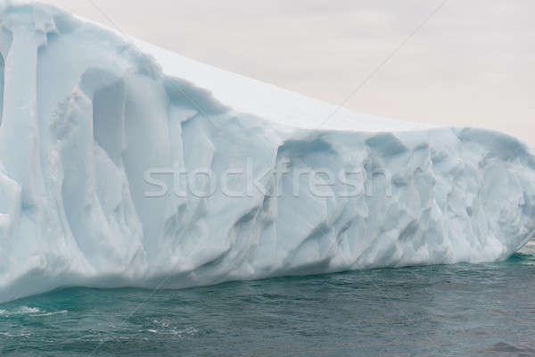 Részlet jéghegy gyönyörű sarkköri körül sziget Stock fotó © Arrxxx