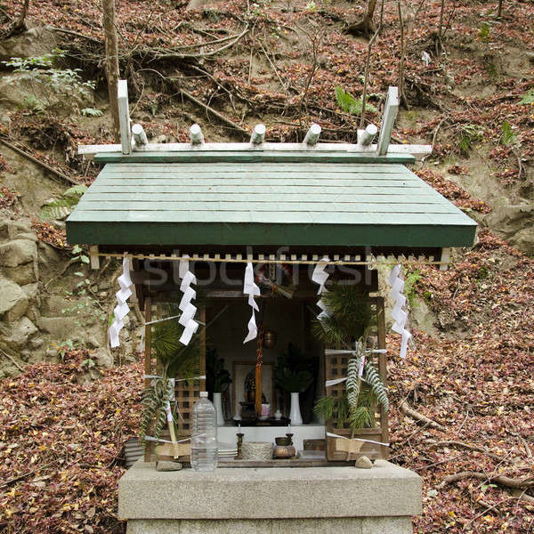 Small shrine in a forest in Japan Stock photo © Arrxxx