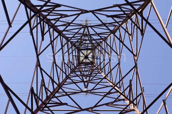 Transmission tower Stock photo © Arrxxx