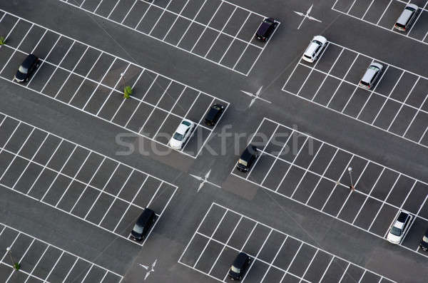 Parking au-dessus beaucoup vide parking voiture Photo stock © Arrxxx