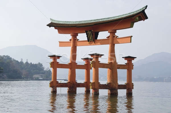 Itsukushima Shrine Stock photo © Arrxxx