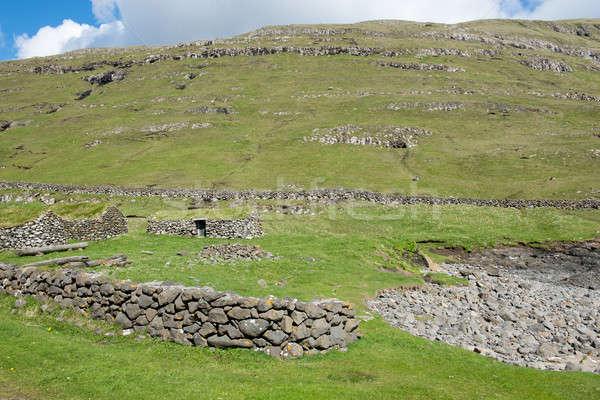 Stock photo: Landscape on the Faroe Islands