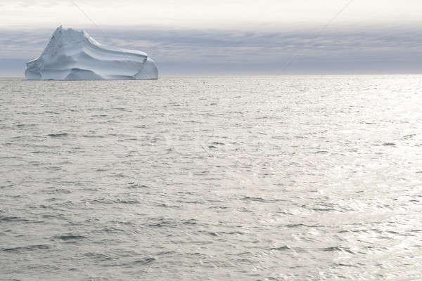 Stock fotó: Gyönyörű · jéghegy · körül · tenger · óceán · jég