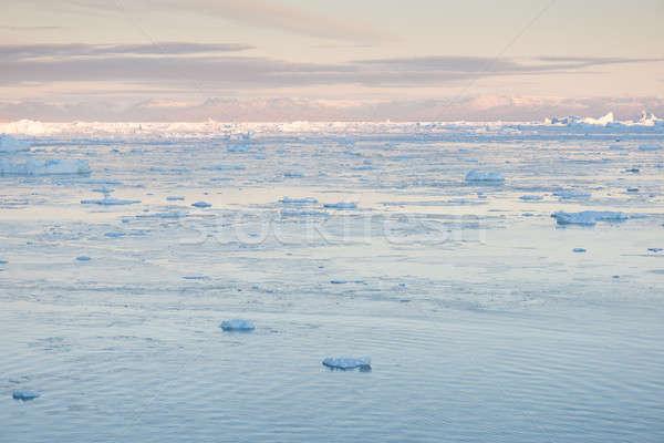 Arctic landscape in Greenland Stock photo © Arrxxx