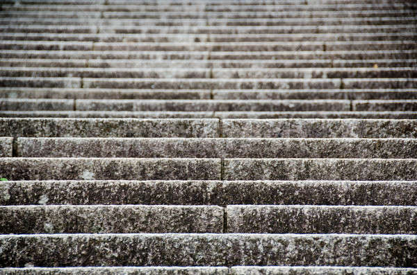 Escada padrão pedra arquitetura Foto stock © Arrxxx