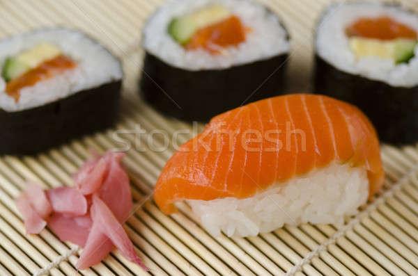 Japanese sushi Stock photo © Arrxxx