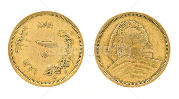 Egyptian money - pounds and piasters Stock photo © Arsgera