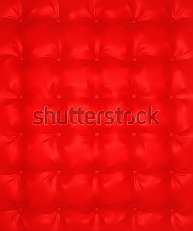 Red Luxury buttoned leather pattern Stock photo © Arsgera