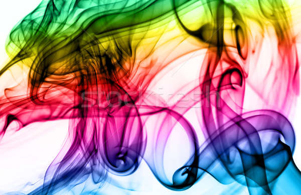 Magic colorful Abstract fume pattern Stock photo © Arsgera
