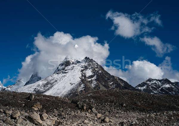походов Непал гор Гималаи небе снега Сток-фото © Arsgera