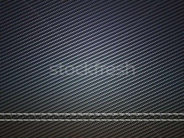 Horizontally Stitched carbon fiber Stock photo © Arsgera