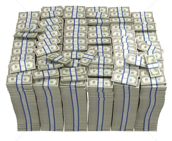 Tesoreria dollari isolato business finanziare Foto d'archivio © Arsgera