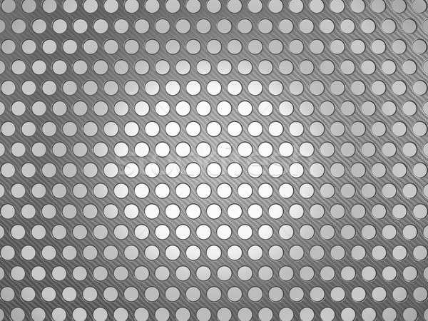 Carbon fiber surface with holes  Stock photo © Arsgera