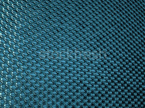 Blue Scales textured material  Stock photo © Arsgera