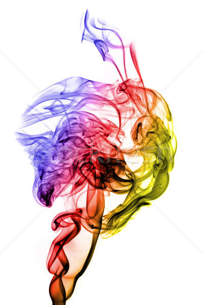 Stock photo: Colored Magic fume abstract
