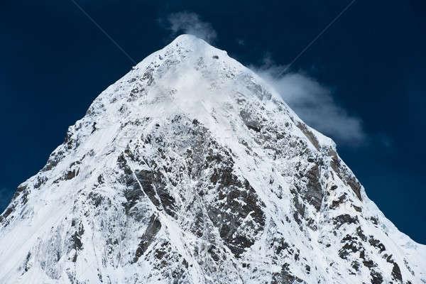 Pumo Ri Peak in Himalaya mountains Stock photo © Arsgera