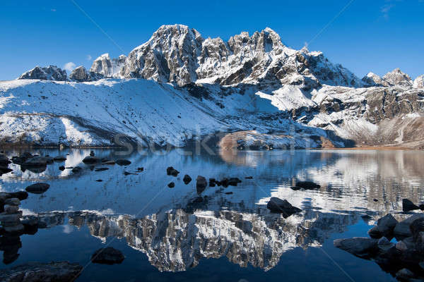 Sacré lac himalaya altitude ciel Photo stock © Arsgera