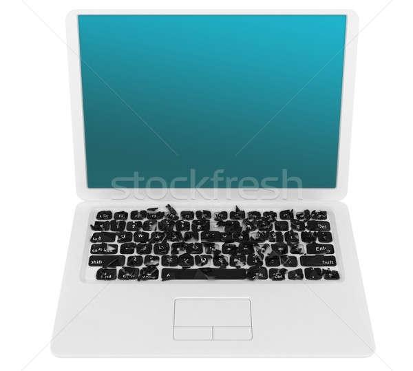 интернет язык разнообразия ноутбука многие ключами Сток-фото © Arsgera