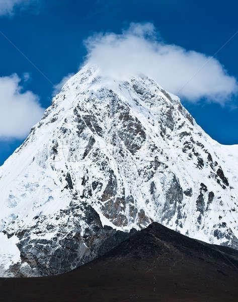 Pumo ri and Kala Patthar mountains in Himalayas Stock photo © Arsgera