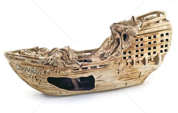 Ceramic Ship Stock photo © Arsgera