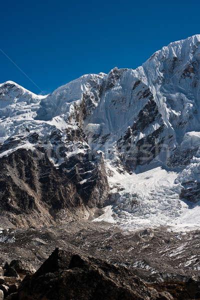 Hegy terjedelem Himalája utazás égbolt tájkép Stock fotó © Arsgera