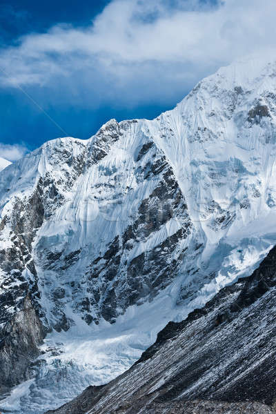 Mountains not far Gorak shep and Everest base camp Stock photo © Arsgera
