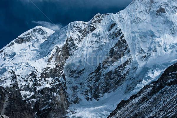 Everest kamp himalayalar yükseklik gökyüzü manzara Stok fotoğraf © Arsgera