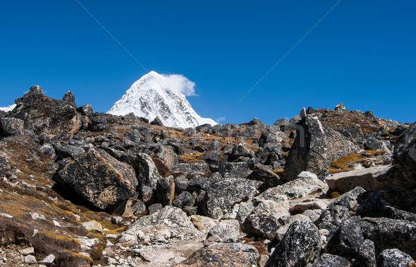 堆石 ピーク ヒマラヤ山脈 トレッキング ネパール 自然 ストックフォト © Arsgera