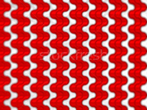Rojo ondulado escalas patrón textura útil Foto stock © Arsgera