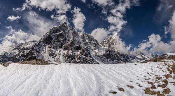 ヒマラヤ山脈 風景 旅行 雪 山 氷 ストックフォト © Arsgera