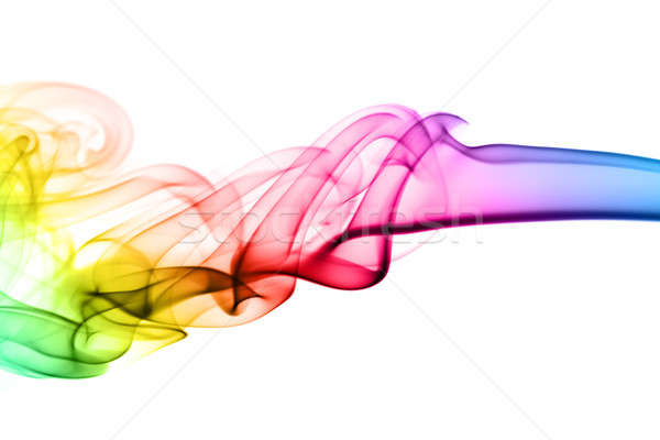 Colorful Abstraction. puff of fume  Stock photo © Arsgera