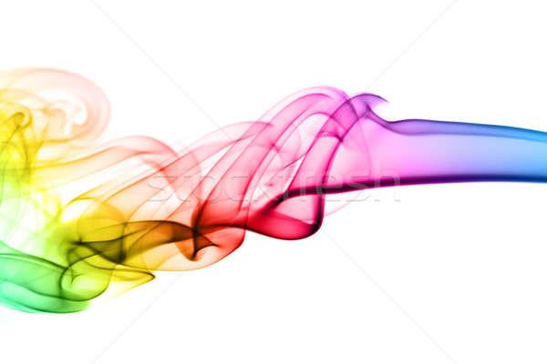 Colorido abstracción blanco luz fondo Foto stock © Arsgera