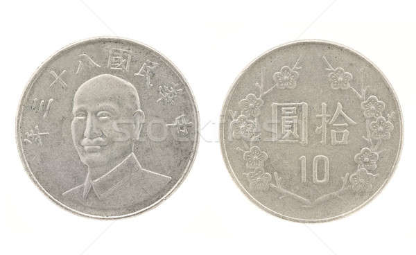 10 Yuan - money of Taiwan Stock photo © Arsgera